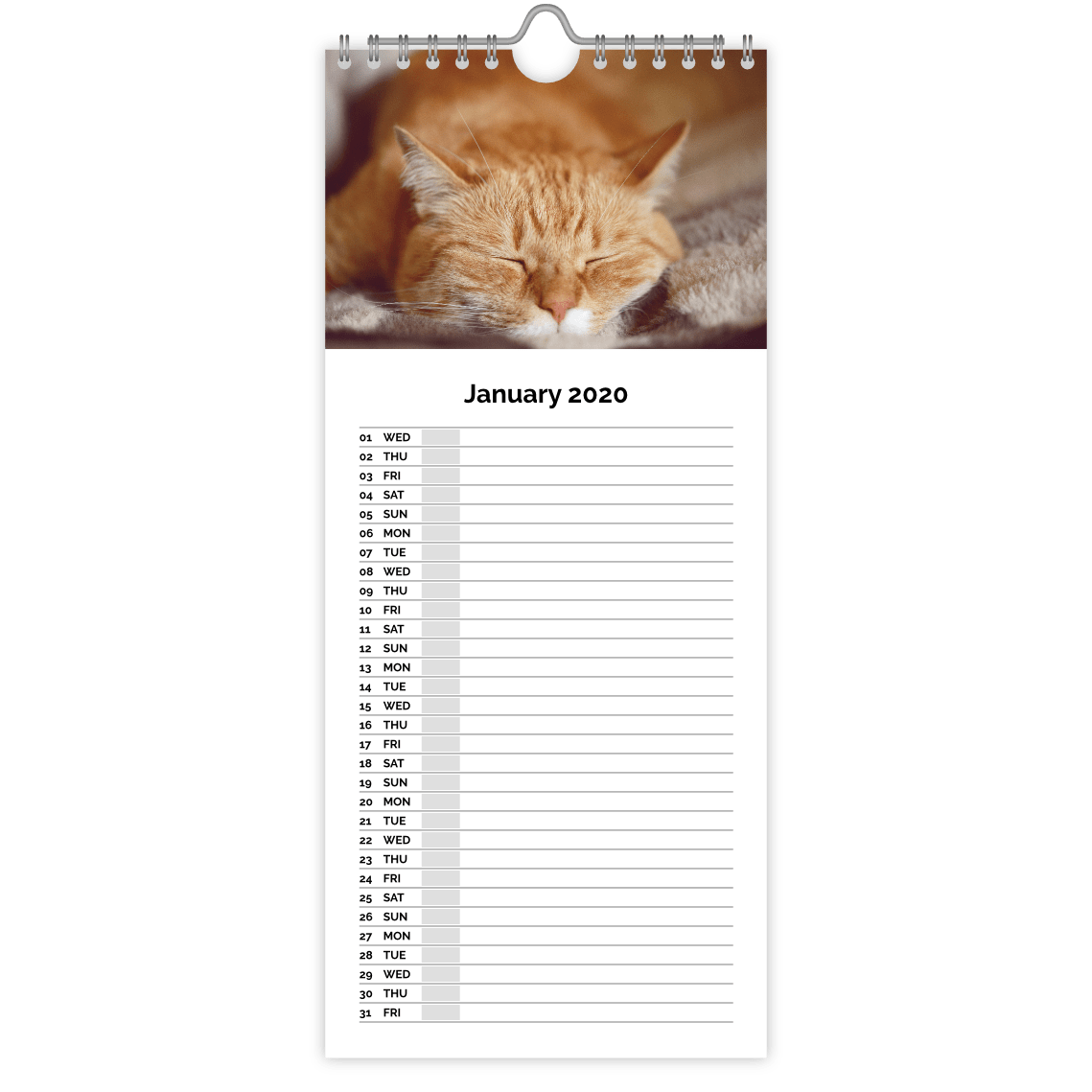 Personalised Kitchen Calendars at ASDA photo